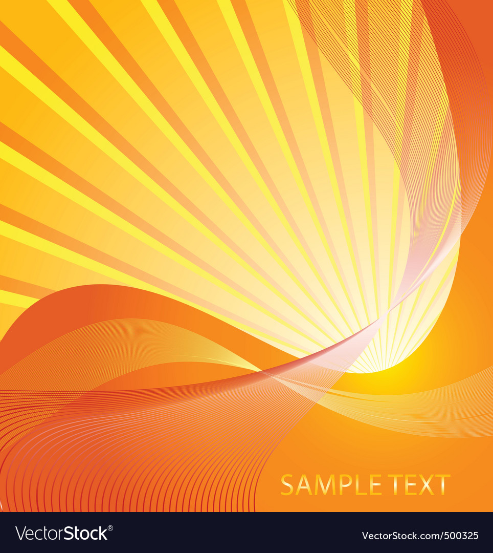 Sunburst design vector
