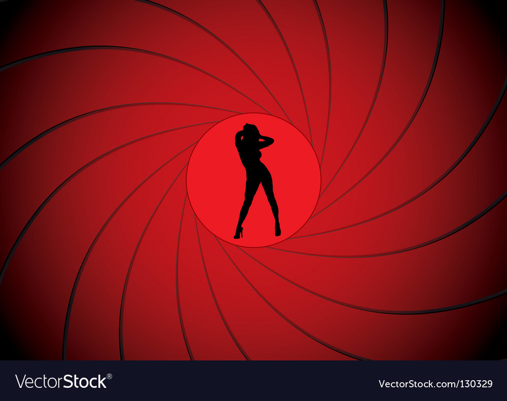 Gun barrel vector