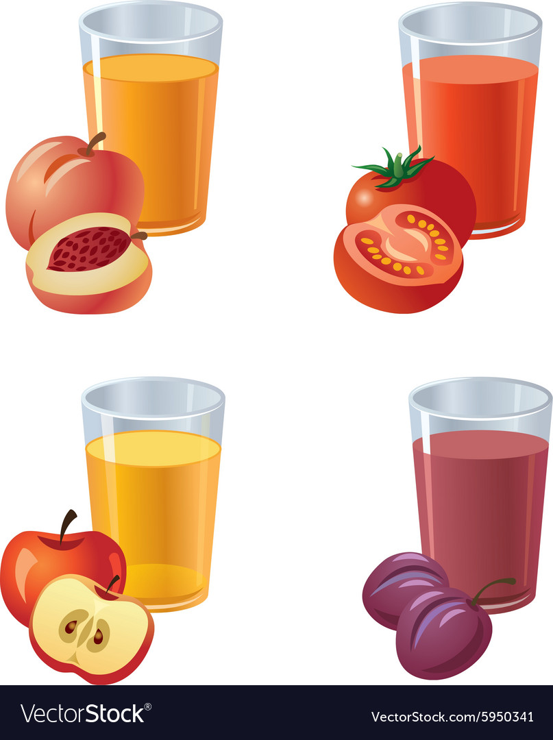 Juices vector