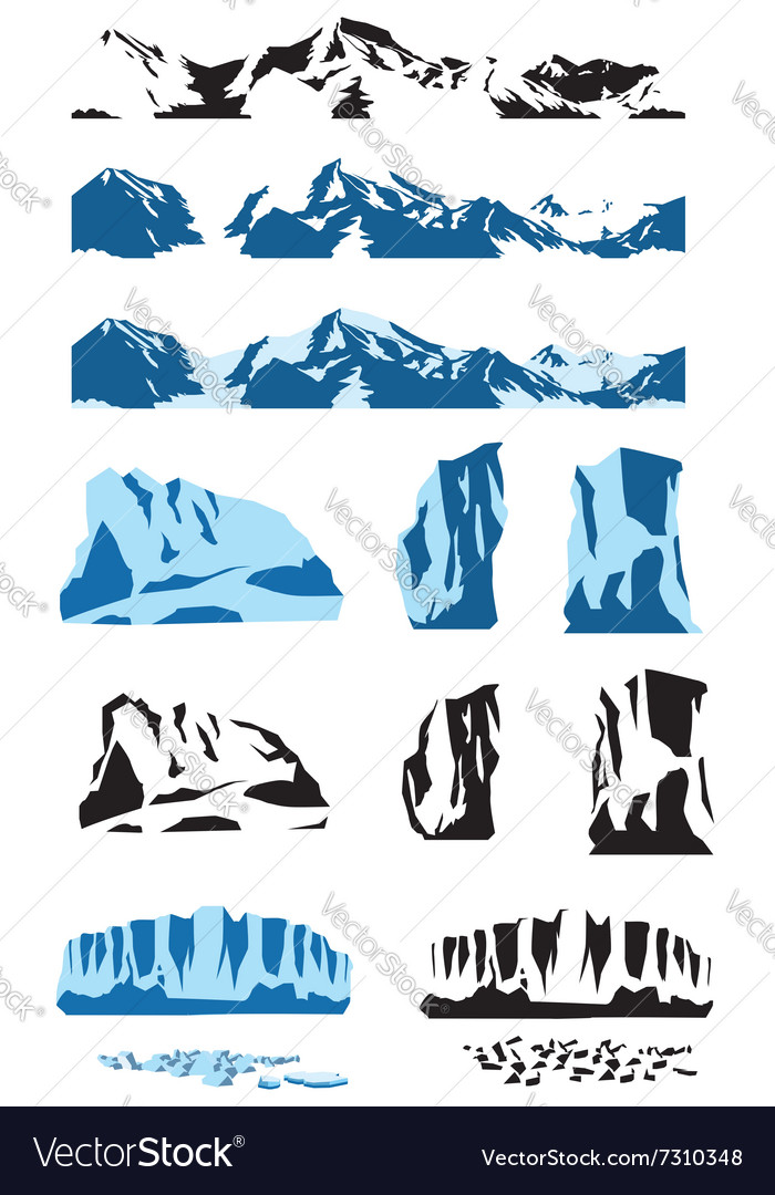 Ice collection vector