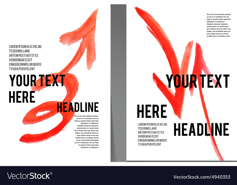 Placards posters flyers and banner designs vector
