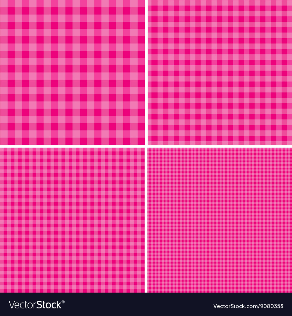 Pink and white background for picnics eps 10 vector