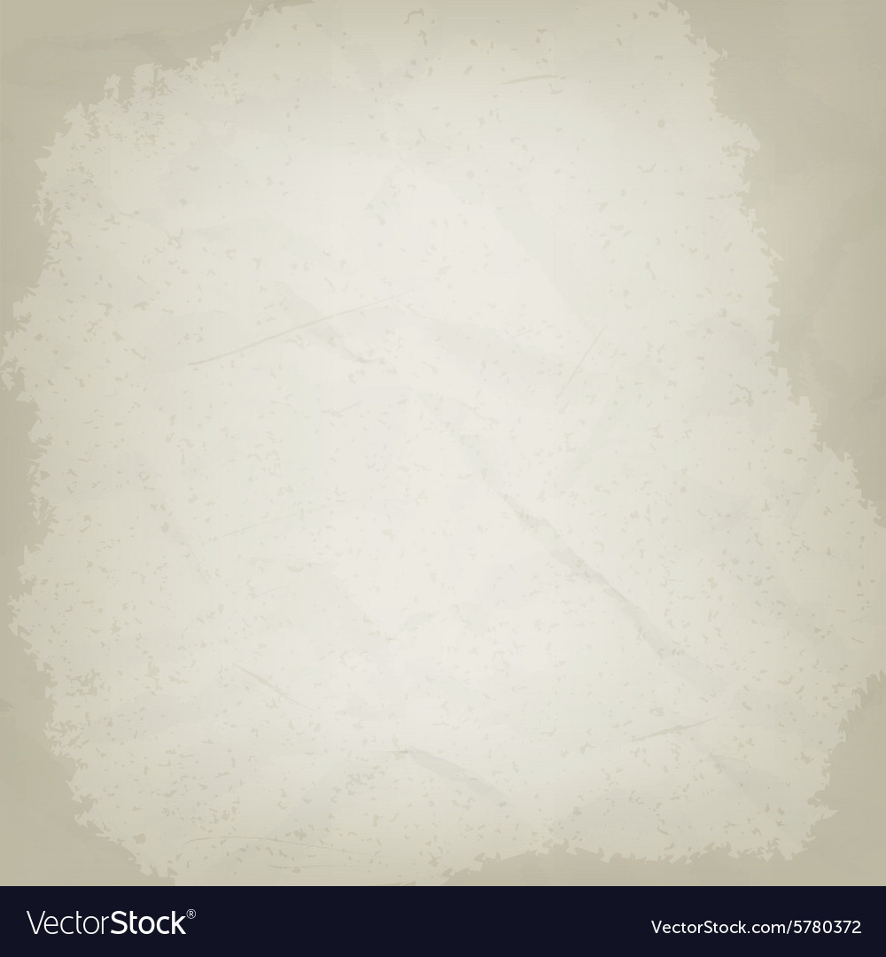 Old crumpled paper grunge background vector