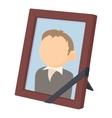 Memory portrait icon cartoon style vector image