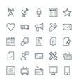 Communication Cool Icons 2 vector image