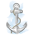 drawing color anchor vector image