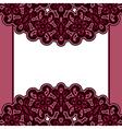 Velvet background vector image vector image