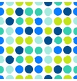 Modern hipster background with dots vector image