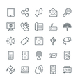 Communication Cool Icons 3 vector image