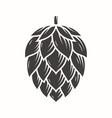 hop emblem icon label logo vector image