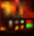 Water drops vector image vector image