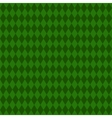 Green rhombus background Seamless pattern vector image