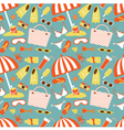 Beach pattern vector image