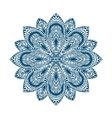 Mandala Decorative ethnic floral ornament vector image vector image