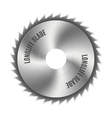 Steel blade for the saw vector image