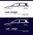 company logo icon element vector image vector image