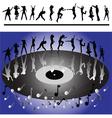 disco dansers vector image