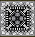 antique floral ornament vector image