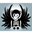 Monkey wing vector image vector image