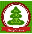 Christmas web banner design vector image