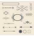 vintage items- vector image