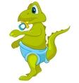cartoon character dino vector image