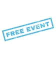 Free Event Rubber Stamp vector image