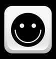 happy face design vector image