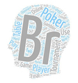 online poker tournament 1 text background vector image