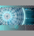abstract futuristic glow 2 vector image