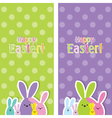 Easter web banners vector image vector image