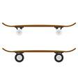 skateboard 03 vector image