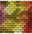Colored Shingles Background vector image