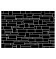 Brick wall block pattern vector image vector image