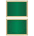 school blackboards vector image vector image