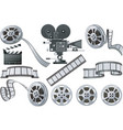 film industry vector image