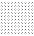 Seamless pattern with polka dot stylish doodle vector image