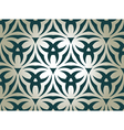 Floral tribal pattern vector image