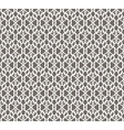 White Forged Seamless Pattern on grey background vector image vector image