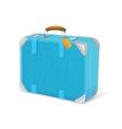 blue trawel suitcase vector image