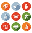 Russian World Icons Set vector image