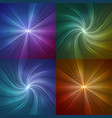 set of abstract backgrounds with lines from the vector image
