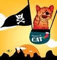 pirates of cat vector image