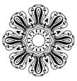 Mandala modern style vector image