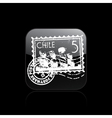 chile icon vector image vector image