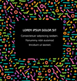 Color Lines Banner vector image