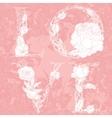 Pastel Floral Frame vector image