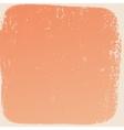 Peach Border Texture vector image vector image