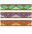 Butterfly garden vector image