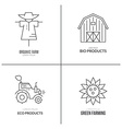 Farming Logotype vector image